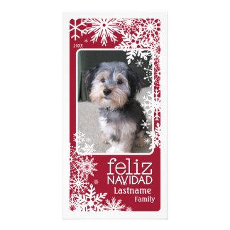 Feliz Navidad -  Let It Snow! Photo Card
