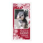 Feliz Navidad -  Let It Snow! Photo Cards