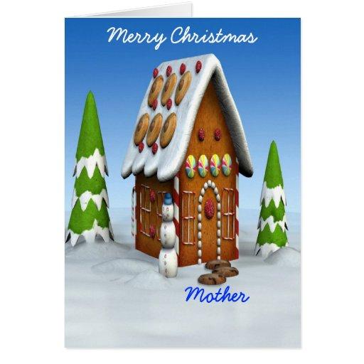 Feliz Navidad-Madre Felicitacion