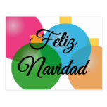 Feliz Navidad - Merry Christmas - Postcard