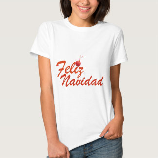 Feliz Navidad Merry Christmas T-shirt