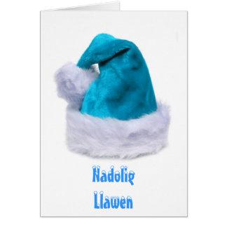Feliz Navidad, Nadolig Llawen Tarjeta De Felicitación