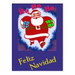 Feliz Navidad Papá Noel Tarjetas Postales