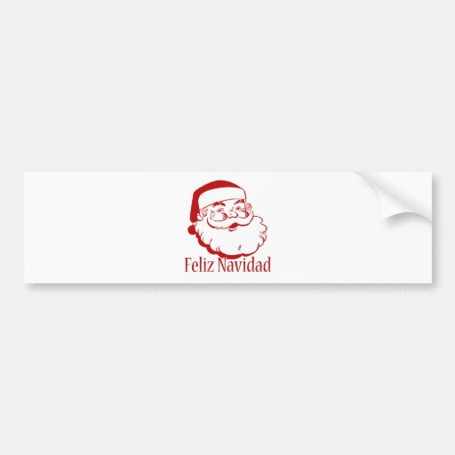 Feliz Navidad Pegatina Para Auto