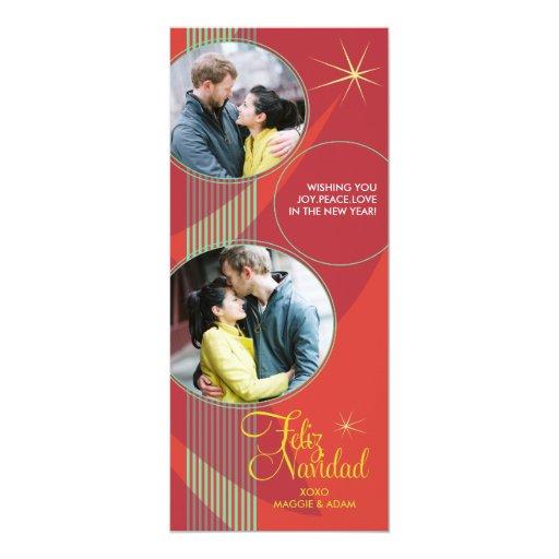 Feliz Navidad Photo Card Personalized Invite