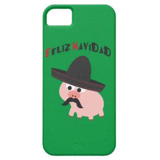 Feliz Navidad! Pig iPhone SE/5/5s Case