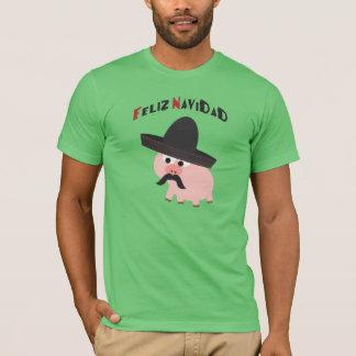 Feliz Navidad! Pig T-Shirt