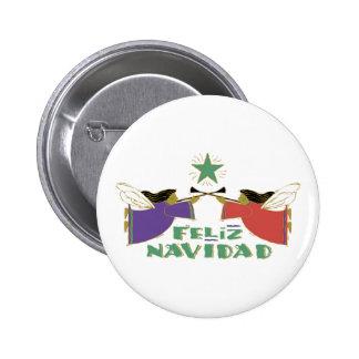 Feliz Navidad Pinback Button