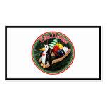 Feliz Navidad - pingüino con el ornamento del trin Plantilla De Tarjeta De Negocio