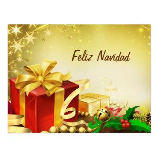 Feliz Navidad Post Cards