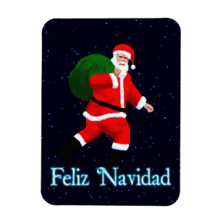 Feliz Navidad - Santa Claus Magnet