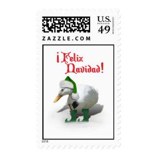 Feliz Navidad - Santa's Helper Elf Duck Stamp
