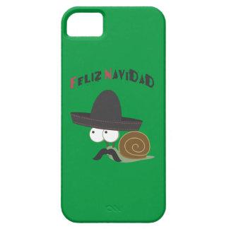Feliz Navidad Snail iPhone SE/5/5s Case