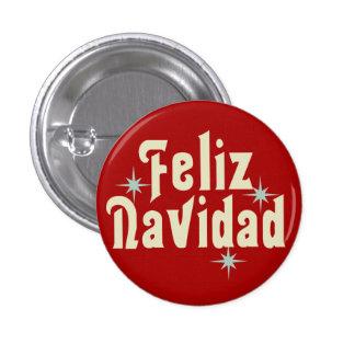 Feliz Navidad Spanish Button