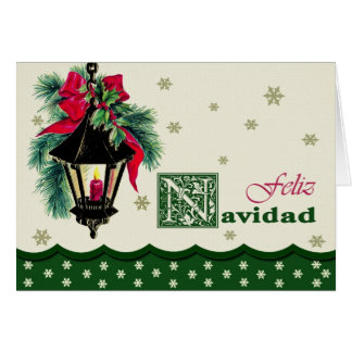 Feliz Navidad. Spanish Christmas Card
