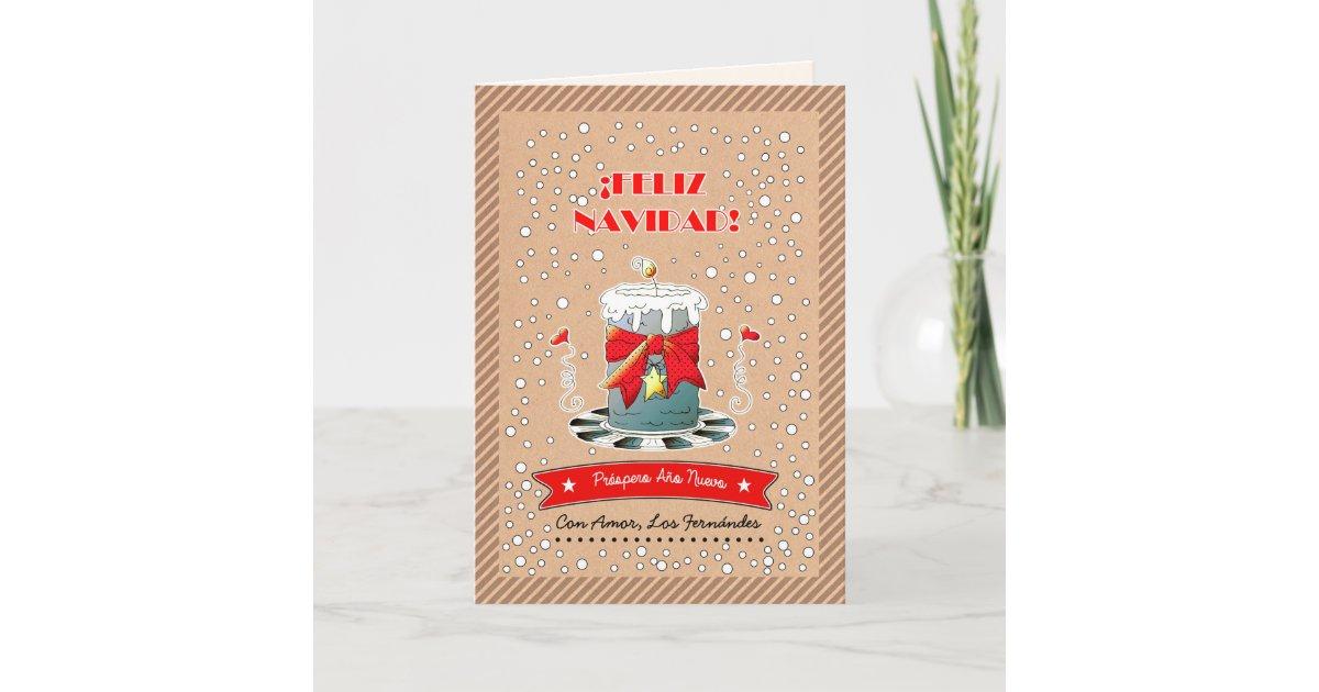 Feliz Navidad. Spanish Christmas Cards | Zazzle.com
