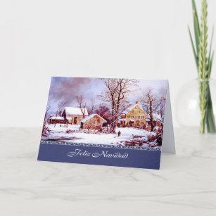 Spanish christmas cards zazzle spanish christmas greeting cards m4hsunfo