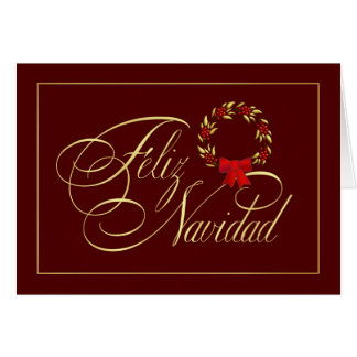 Feliz Navidad - Spanish tarjetas - Holiday Cards