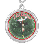 Feliz Navidad - Special Delivery Santa Ornament Jewelry