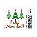 Feliz Navidad Stamp