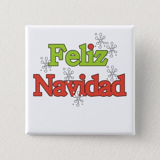 Feliz Navidad T-shirts and Gifts Button