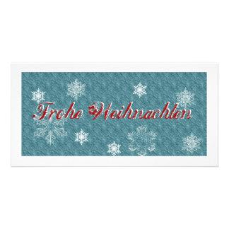 Feliz Navidad tarjeta de navidad exclusiva Tarjetas Personales Con Fotos