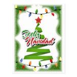 Feliz Navidad Tarjeta Postal