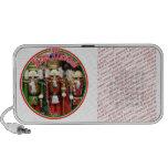 Feliz Navidad - Three Wise Crackers iPod Speakers