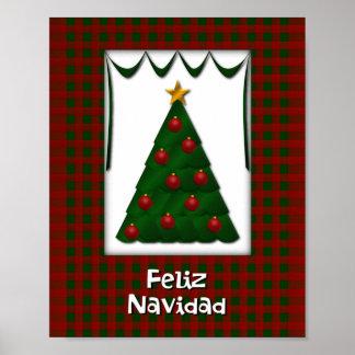Feliz Navidad - Wall Decoration Poster