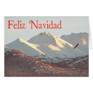 Feliz Navidad - Winter Eagle Card
