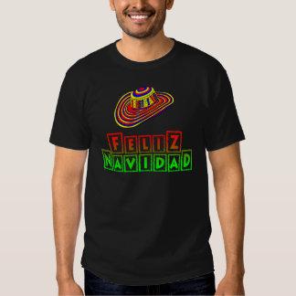 Feliz Navidad with Sombrero Christmas Shirt
