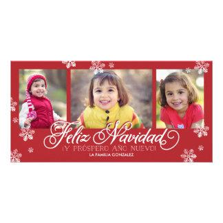 Feliz Navidad Y Próspero Año Nuevo Card