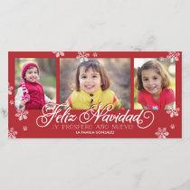 Feliz Navidad Y Próspero Año Nuevo Holiday Card