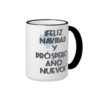 Feliz Navidad Y Prospero Ano Nuevo - Mug