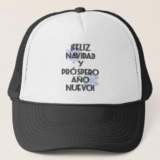 Feliz Navidad Y Prospero Ano Nuevo Trucker Hat