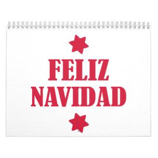 Feliz Navidad Calendarios