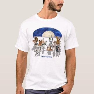 Feliz Navidog Funny Cartoon Dog Lover T Shirt