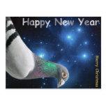 Feliz New Year Tarjeta Postal