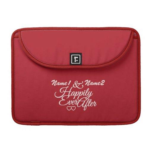 Feliz nunca después de la manga de encargo de MacB Funda Macbook Pro