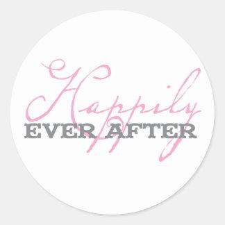 Feliz nunca después de pegatina