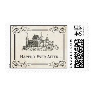 Feliz nunca después de sellos del castillo del cue