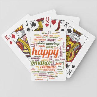 Feliz Cartas De Juego