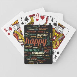 Feliz Cartas De Póquer