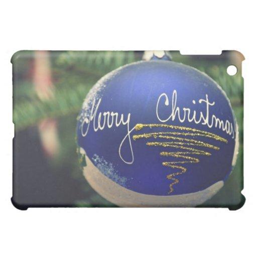 Feliz ornamento del árbol de navidad
