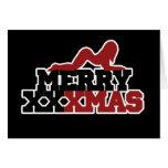 Feliz parodia de Navidad de XXXMas Tarjeta Pequeña