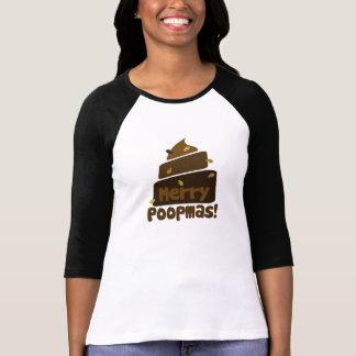 Feliz POOPmas Camiseta
