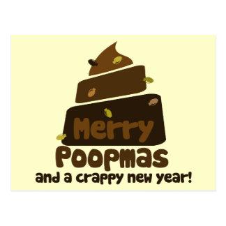 Feliz Poopmas Postales