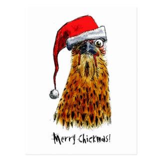 Feliz postal de Chickmas