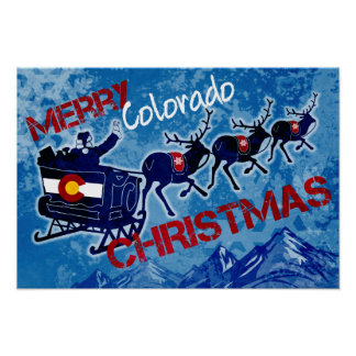 Feliz poster del saludo del grunge del navidad de póster