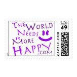 Feliz-púrpura Envio